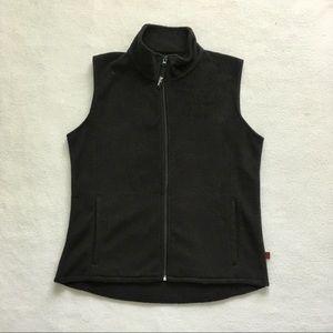 Woolrich Polyester Full Zip Pocket Fleece VestM